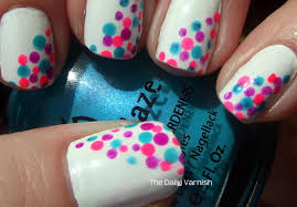 28 easy step by step polka dot nail art tutorial for beginners and
