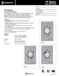 Baseball Resume Template Intermatic Ff6h 6 Hour Spring Loaded Wall Timer Plastic With
