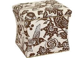 Brown Storage Ottoman Brown Ottomans Storage Coffee Table U0026 More