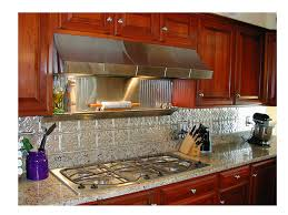 Tumbled Slate Backsplash by Kitchen Backsplashes Sheet Metal Backsplash Kitchen Stainless