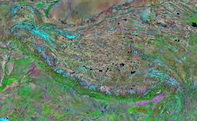 Montana Google Map by Himalaya Mountain Range Satellite Image Map Geology Com