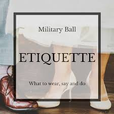 5 things to know before attending a military ball military ball