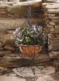 essential garden hanging basket plant stand limited availability