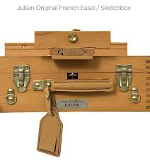 jullian french easel original and half box easels jerry u0027s artarama