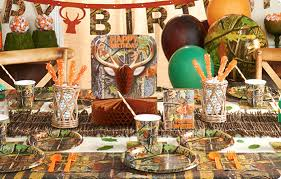 themed party supplies camouflage theme party happy and blessed home