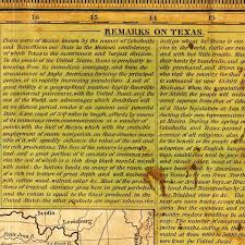 Old Texas Map Texas 1836 Young U0026 Mitchell Map Battlemaps Us