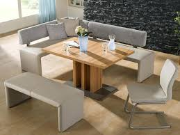 Dining Room Tables With Benches Dining Table With Bench Seating Leandrocortese Info