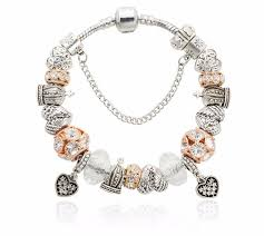 love charm bracelet images Crystal love charm bracelet femmi accessories jpg