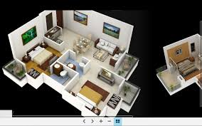 Home Design 3d Online Country 3d Home Design For 2 Floors Home Using Stone As Wall Cover
