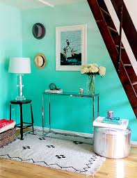 turquoise wall paint called as the royal color homesfeed