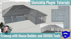 house builder modeling framing in your sketchup models with house builder and