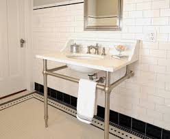 Vintage Bathroom Tile Ideas Black And White Vintage Bathroom Tile 31 Retro Black White