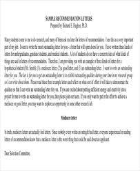 medical recommendation letter recommendation letter for