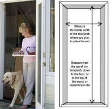 sliding glass door size standard bug off instant screen door in sects free garden u0026 patio