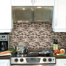 kitchen backsplash tile home depot smart tiles bellagio blanco w