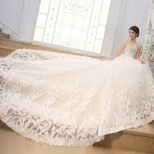 mermaid wedding gown with long train wedding dresses in jax