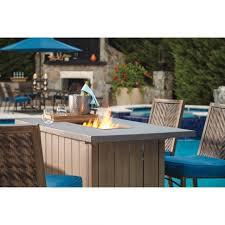 patio height patio table sets outdoor portable bar set small
