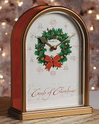 carols of tabletop clock smithsonian store