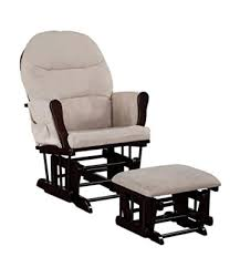 Glider And Ottoman Home Brisbane Glider Ottoman Set With Cushion In And