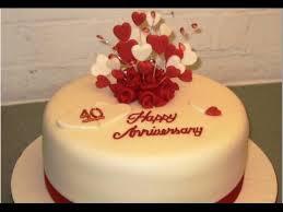 anniversary cake wedding anniversary cake