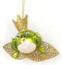 freddie european glass frog ornament by jinglenog jinglenog