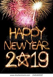 Free photos Happy new year 2019 word made from sparkler light