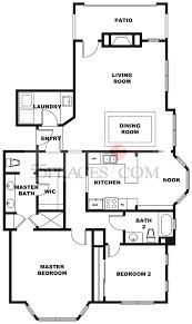 Belmonte Builders Floor Plans Ridge Panorama Floorplan 1416 Sq Ft Rossmoor