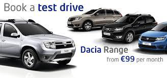 authorised dacia dealer south dublin ireland new and used