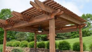 awesome pergola ideas for small backyards with wood bench and