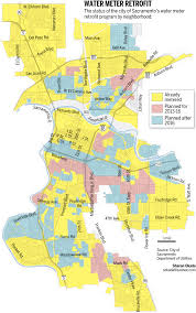 Sac State Map Sacramento To Speed Up Water Meter Installations The Sacramento Bee