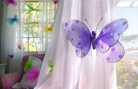 Purple Curtains For Nursery Butterfly Nursery Decor Curtains Nursery Ideas Baby Butterfly