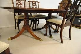 ethan allen dining chairs round expandable dining table ethan