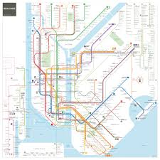 Map Ny A Reimagined Nyc Subway Map Now With A More Accurate Brooklyn