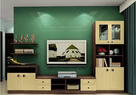 home interior oak tv cabinet with tv wall green interior design