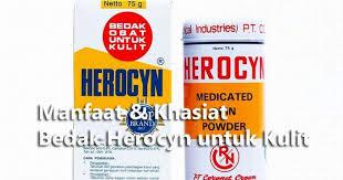 Bedak Gatal manfaat khasiat bedak herocyn untuk kulit ragam khasiat nusantara
