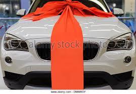 car ribbon car ribbon present stock photos car ribbon present stock images