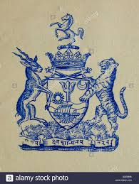 stuttgart coat of arms coat of arms early 20th century morvi or morbi state saurashtra