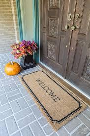 Doormats Target My Front Door And A New Doormat In My Own Style