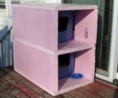How To Make An Outdoor Bathroom Outdoor Cat Shelter That Someone Built And It U0027s So Easy To Build