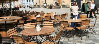 Beer Garden Tables by Tosca Folding Collection By Haste Garden At American Country