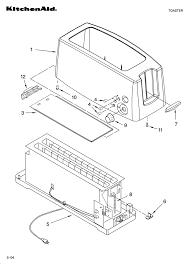 Kitchenaid Toaster Oven Parts List Kitchenaid Toaster Parts Model Ktt570 Sears Partsdirect