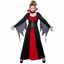 Ladies Halloween Costumes Uk Ladies Classic Vampiress Bride Dracula Halloween Fancy