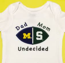 Notre Dame Infant Clothes Personalized House Divided Baby Football Bodysuit Shirt Burp