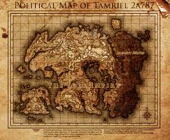 Elder Scrolls Map Elder Scrolls The Volk Empire Map Of Tamriel By Dovahfahliil On