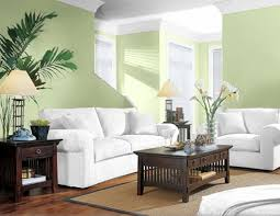 Decorate Home by Living Room Warm Green Colors Eiforces