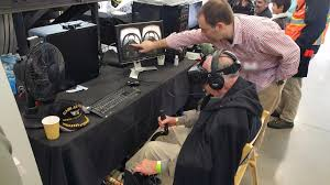 this awesome flight sim setup includes an ejector seat uploadvr