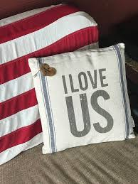 engraved pillows personalized burlap i us pillow customized