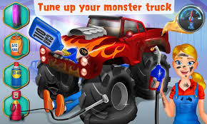 mechanic mike monster truck android apps google play