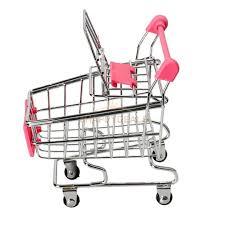 Mini Shopping Cart Desk Organizer Mini Shopping Cart Desk Organizer Supermarket Phone Toy Pen Holder