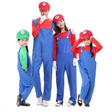 Mario Luigi Halloween Costume Aliexpress Buy Halloween Costumes Funny Super Mario Luigi